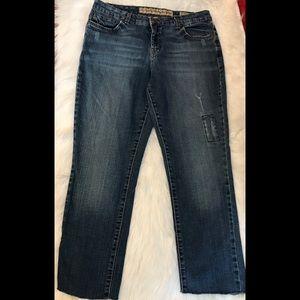 Nine West Vintage America Cropped Jeans Size 8